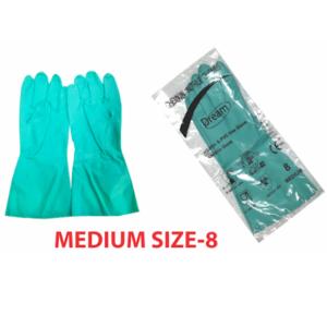 NG 8 - Nitrile Chemical Gloves
